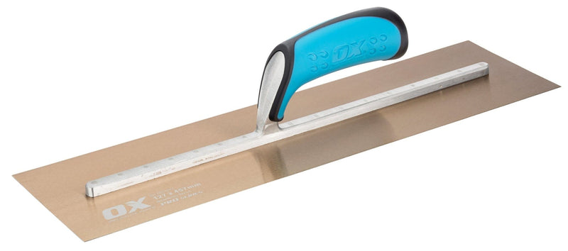 OX Pro Stainless Steel Plasterers Trowel - Plasterers Trowel - Trade Building Products