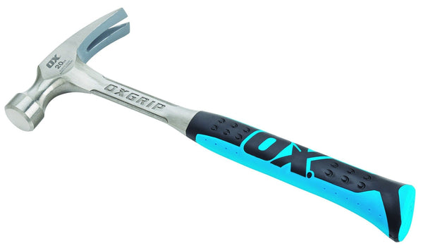 Ox Pro Straight Claw Hammer - 20 oz - Hammer - Trade Building Products