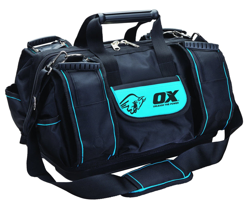 OX Pro Super Open Mouth Tool Bag - Tool Bag - Trade Building Products