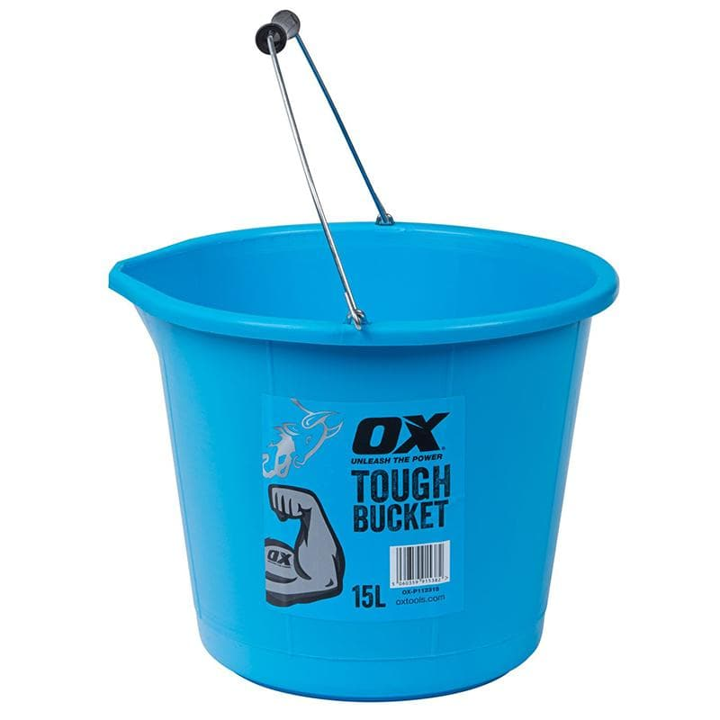 Ox Pro Tough Bucket - 15L - Bucket - Trade Building Products