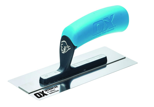 OX Pro Ultraflex Small Trowel 8in / 200 x 80mm - Finishing Trowel - Trade Building Products