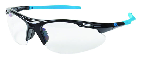 OX Professional Wrap Around Safety Glasses - Clear - Eye Protection - Trade Building Products