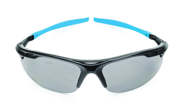 OX Professional Wrap Around Safety Glasses - Smoked - Eye Protection - Trade Building Products
