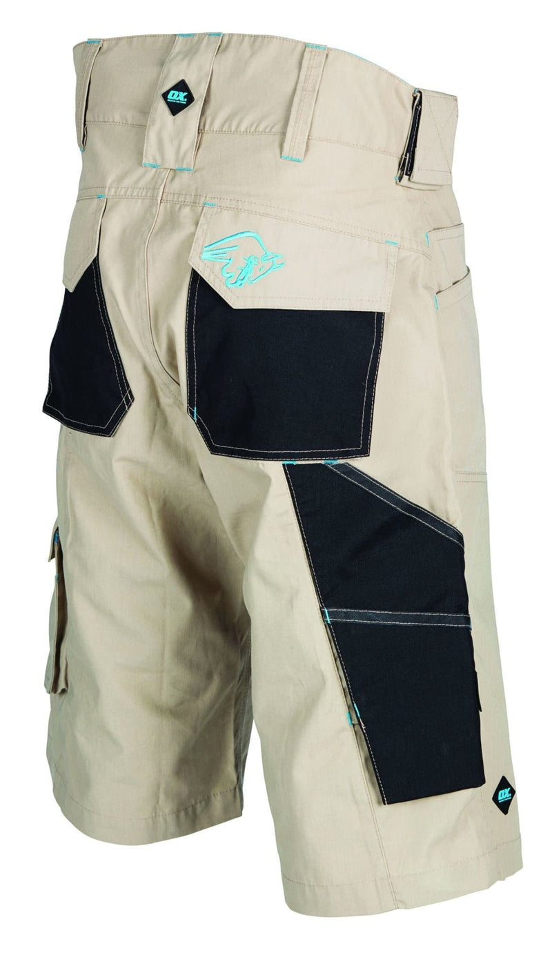 OX Ripstop Shorts - Beige - Shorts - Trade Building Products