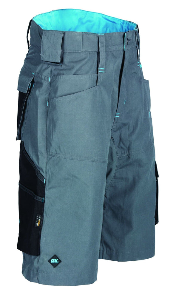 OX Ripstop Shorts - Charcoal - Shorts - Trade Building Products