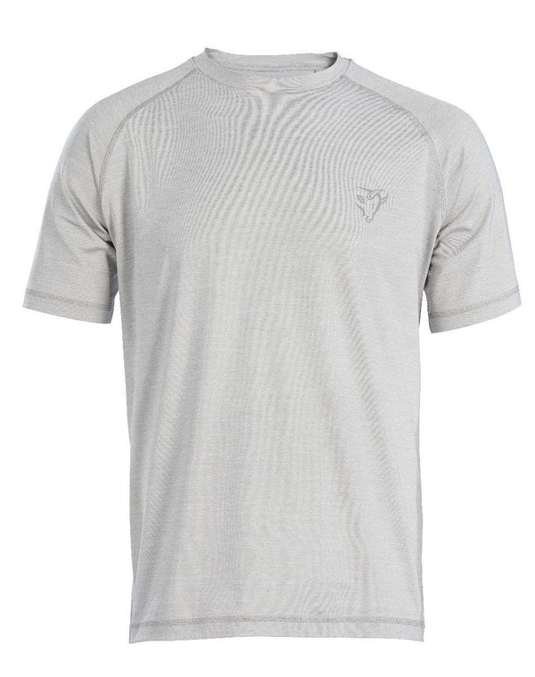 OX Tech Crew T-Shirt - Grey - Top - Trade Building Products