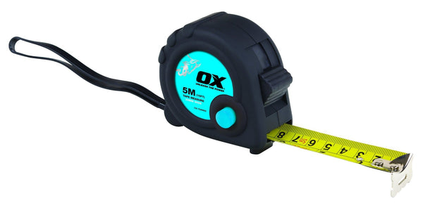 Ox Trade 5m Tape Measure - Tape Measure - Trade Building Products
