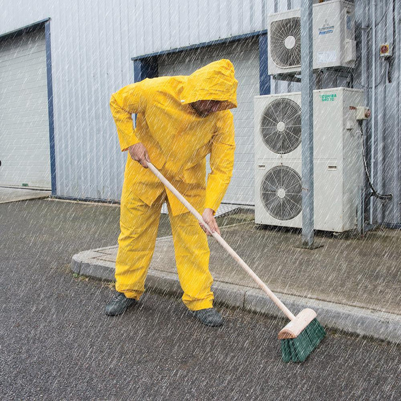 Rain Suit Yellow 2pce - PPE - Trade Building Products