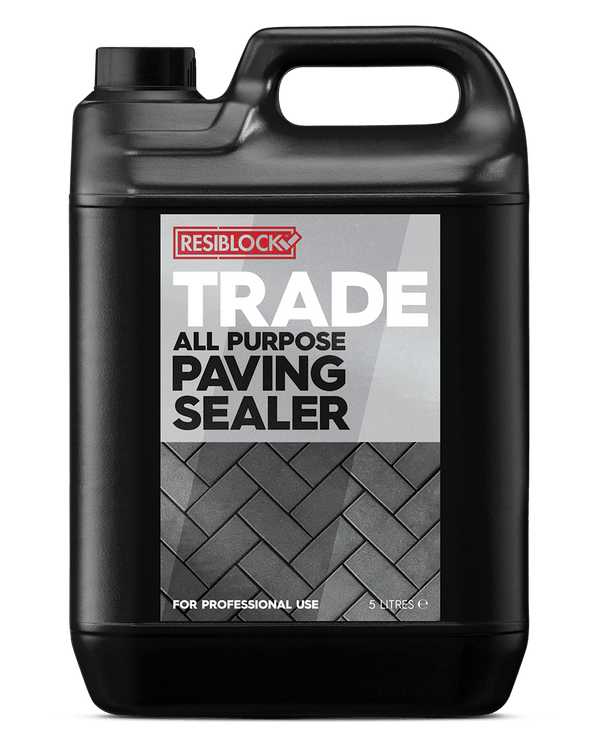 Resiblock Trade Concrete & Block Paving Sealer - Block Paving Sealer - Trade Building Products