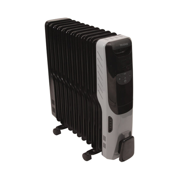Rhino 2.5KW Oil Filled Radiator Deluxe - Heater - Trade Building Products