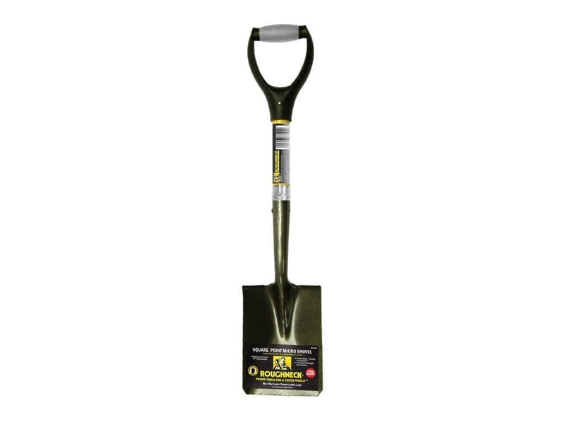 Roughneck Micro Shovel Square Point - Shovel - Trade Building Products