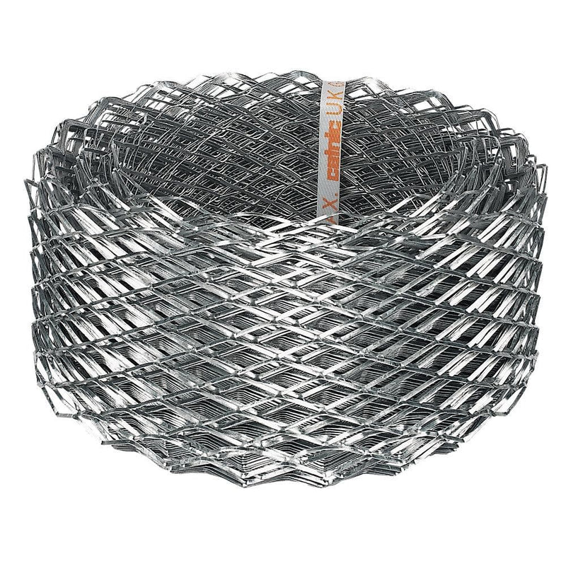 Sabrefix Brick Reinforcement Coil Mesh - Galvanised - 112mm x 20MTR - Brick Reinforcement - Trade Building Products
