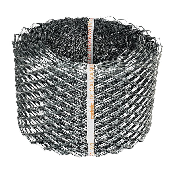 Sabrefix Brick Reinforcement Coil Mesh - Galvanised - 175mm x 20MTR - Brick Reinforcement - Trade Building Products