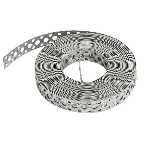 Sabrefix Galvanised Builders Band - 20mm x 9.6MTR - Builders Metalwork - Trade Building Products