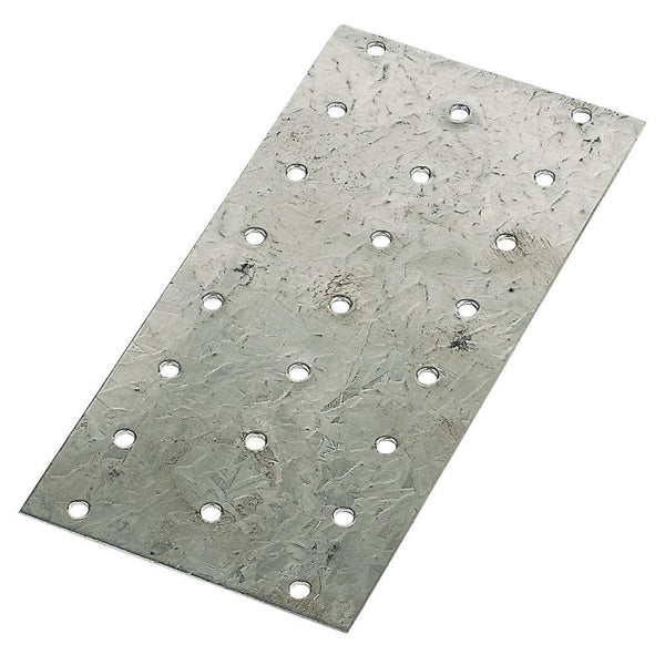 Sabrefix Hand Nail Plate - Galvanised - 150 x 75mm - 25 Pack - Builders Metalwork - Trade Building Products