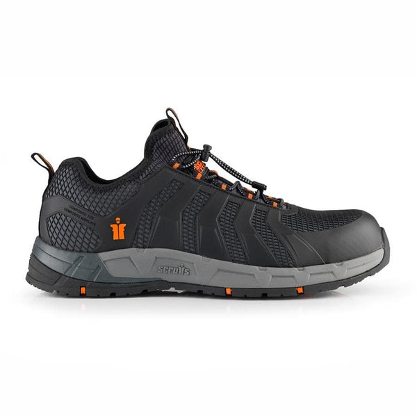Scruffs Argon Black Safety Trainers - Safety Footwear - Trade Building Products