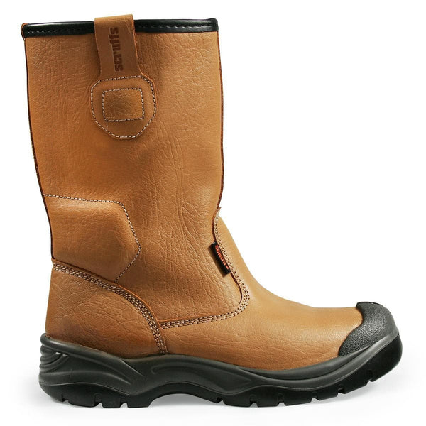 Scruffs Gravity Tan Rigger Boot - Safety Footwear - Trade Building Products