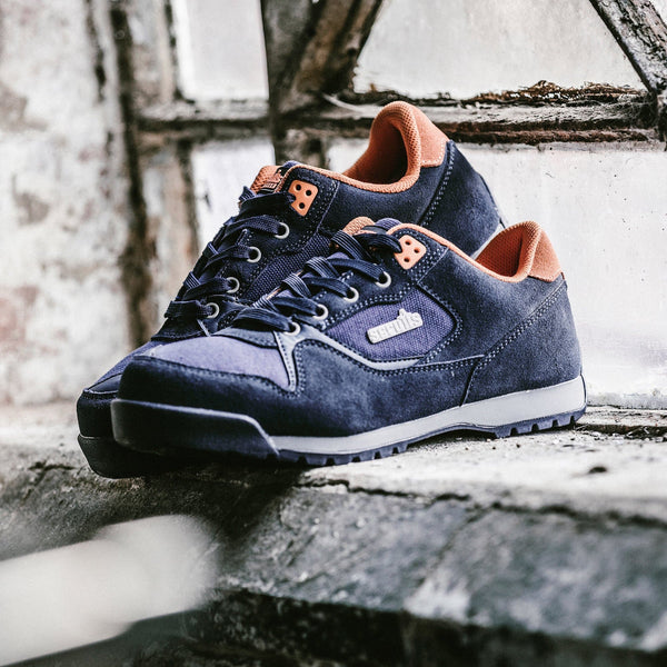 Scruffs Halo 2 Navy Safety Trainers - Safety Footwear - Trade Building Products