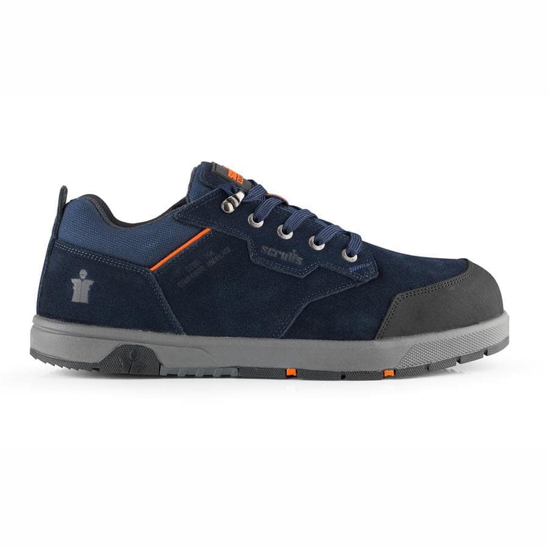 Scruffs Halo 3 Navy Safety Trainers - Safety Footwear - Trade Building Products