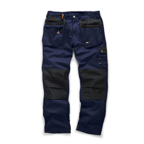 Scruffs Navy Worker Plus Trousers - Trousers - Trade Building Products
