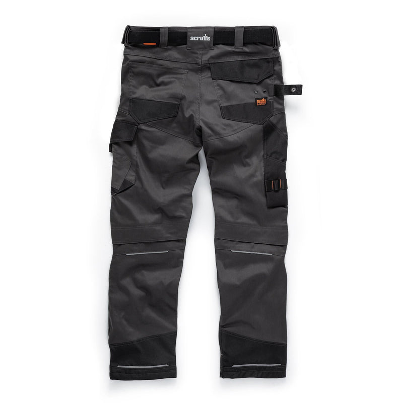 Scruffs Pro Flex Trousers - Graphite - Trousers - Trade Building Products