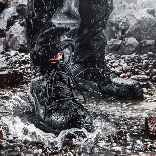 Scruffs Rapid Safety Boot Black - Safety Footwear - Trade Building Products