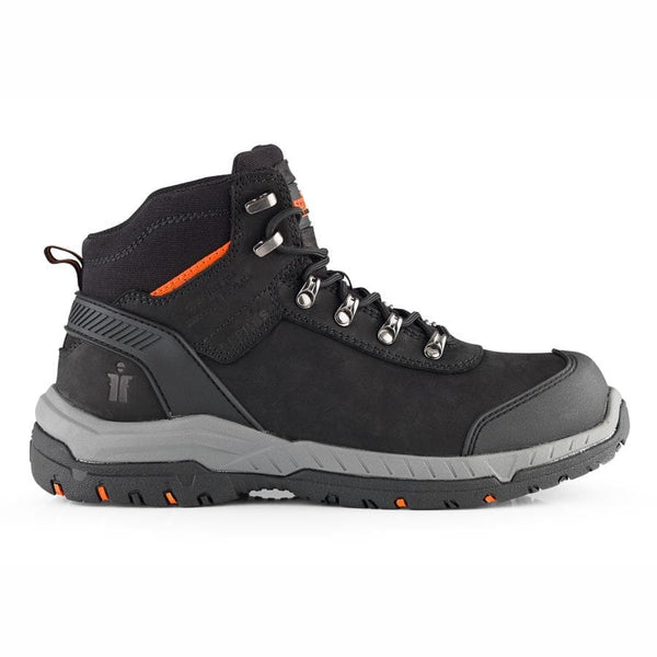 Scruffs Sabatan Black Safety Boot - Safety Footwear - Trade Building Products