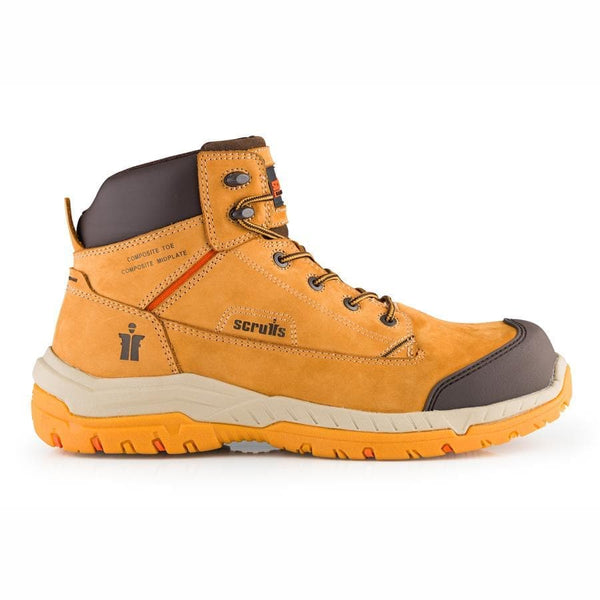 Scruffs Solleret Tan Safety Boot - Safety Footwear - Trade Building Products