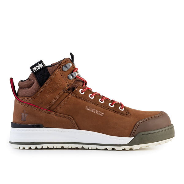 Scruffs Switchback Safety Boot - Brown - Safety Footwear - Trade Building Products