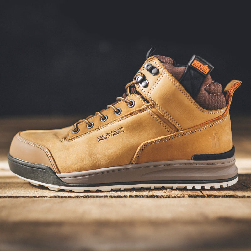 Scruffs Switchback Safety Boot - Tan - Safety Footwear - Trade Building Products