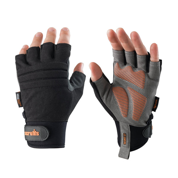 Scruffs Trade Fingerless Gloves - Safety Gloves - Trade Building Products