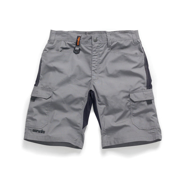 Scruffs Trade Flex Short Graphite - Shorts - Trade Building Products