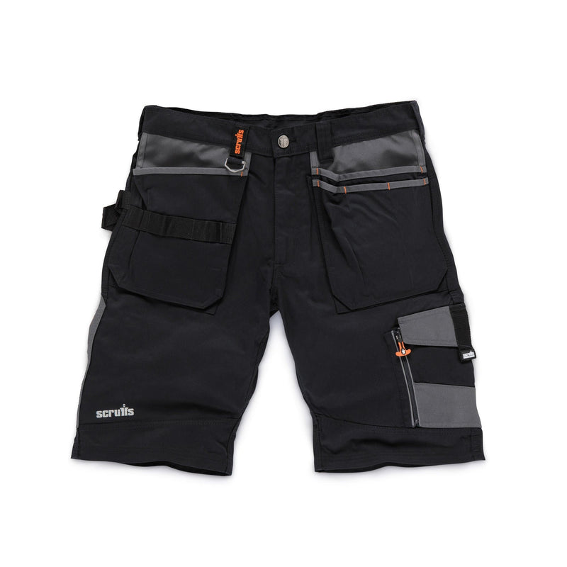 Scruffs Trade Short - Black - Shorts - Trade Building Products