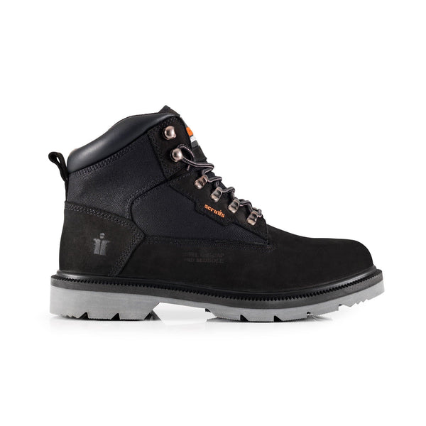 Scruffs Twister Black Safety Boot - Safety Footwear - Trade Building Products