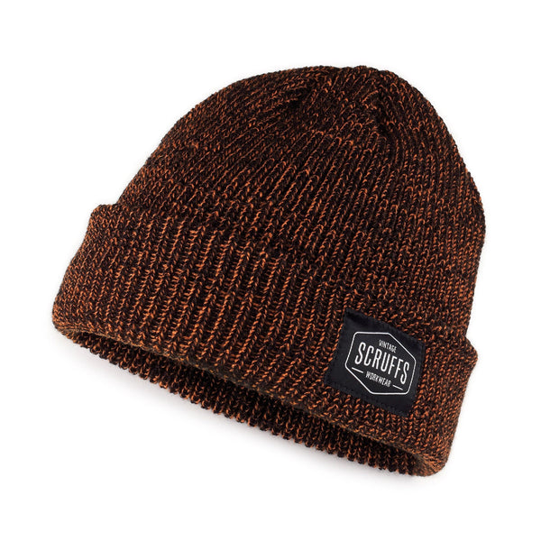 Scruffs Vintage Beanie Hat Orange/Black - Hat - Trade Building Products