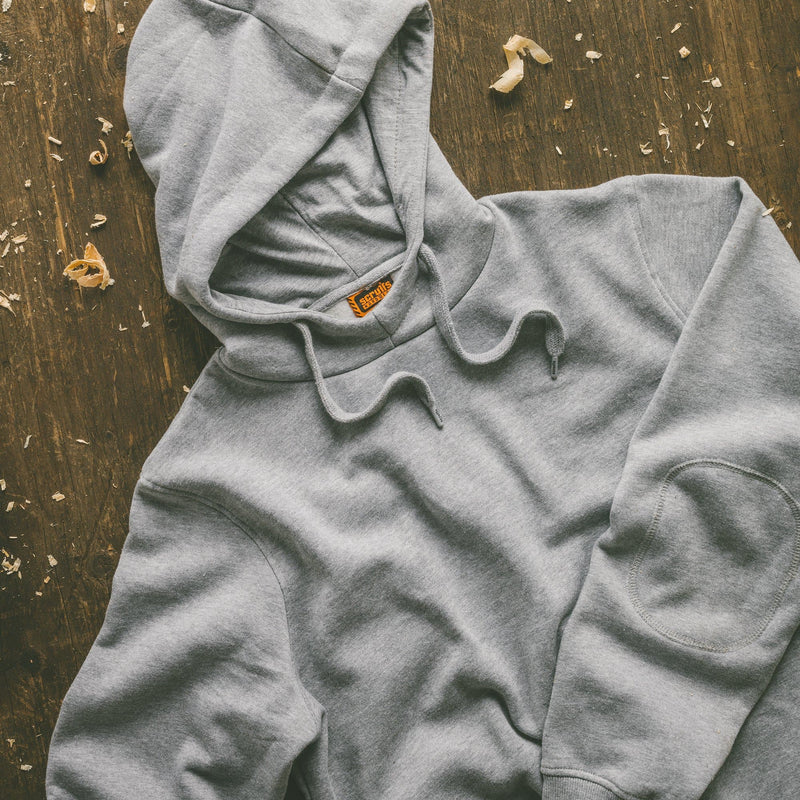 Scruffs Worker Hoodie Grey Marl - Hoodie - Trade Building Products