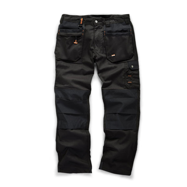Scruffs Worker Plus Trousers - Black - Trousers - Trade Building Products