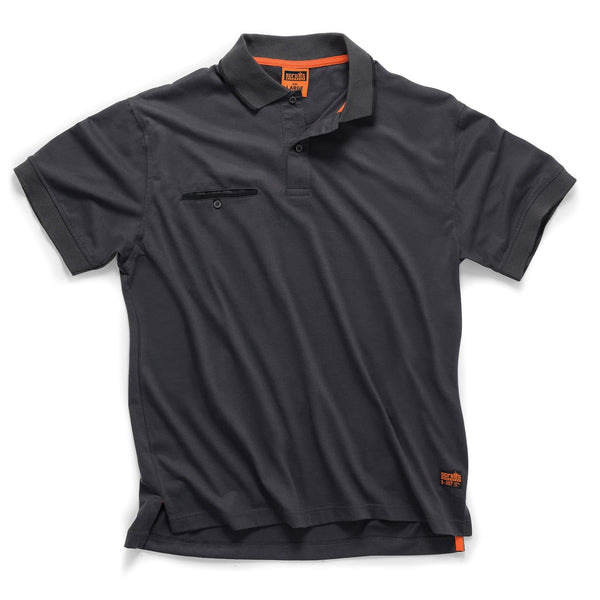 Scruffs Worker Polo - Graphite - Polo Shirt - Trade Building Products