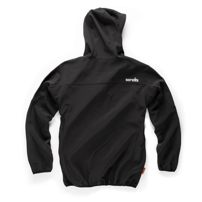 Scruffs Worker Softshell Jacket Black - Jacket - Trade Building Products