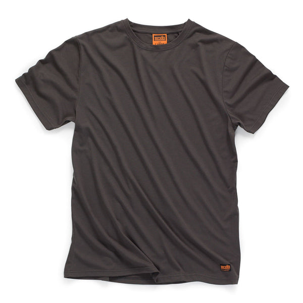 Scruffs Worker T-Shirt - Graphite - T-Shirt - Trade Building Products