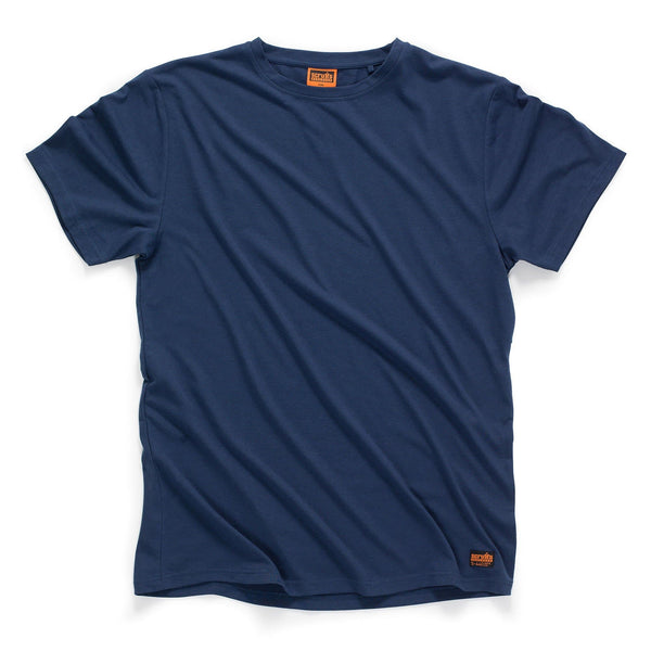 Scruffs Worker T-Shirt - Navy - T-Shirt - Trade Building Products