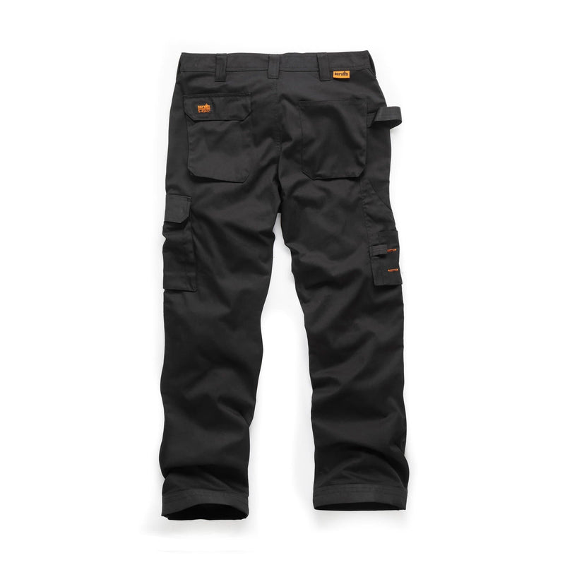 Scruffs Worker Trousers - Black - Trousers - Trade Building Products