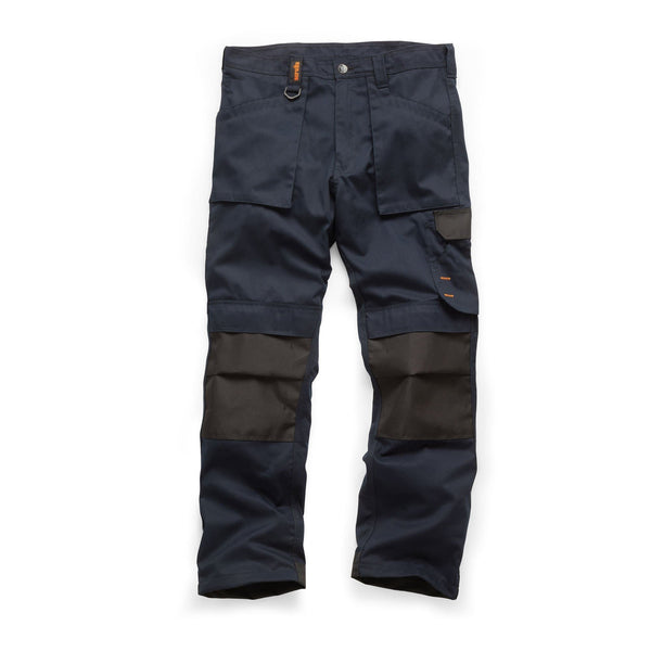 Scruffs Worker Trousers - Navy - Trousers - Trade Building Products
