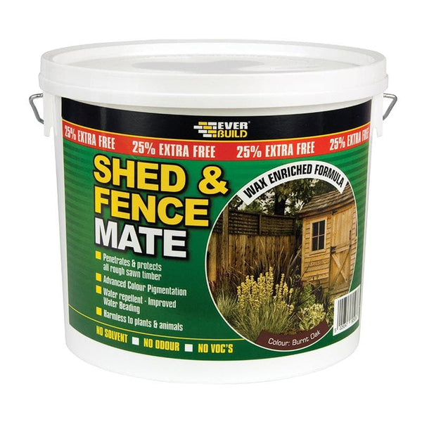 Shed and Fence Mate - 5L - - Wood Treatment - Trade Building Products