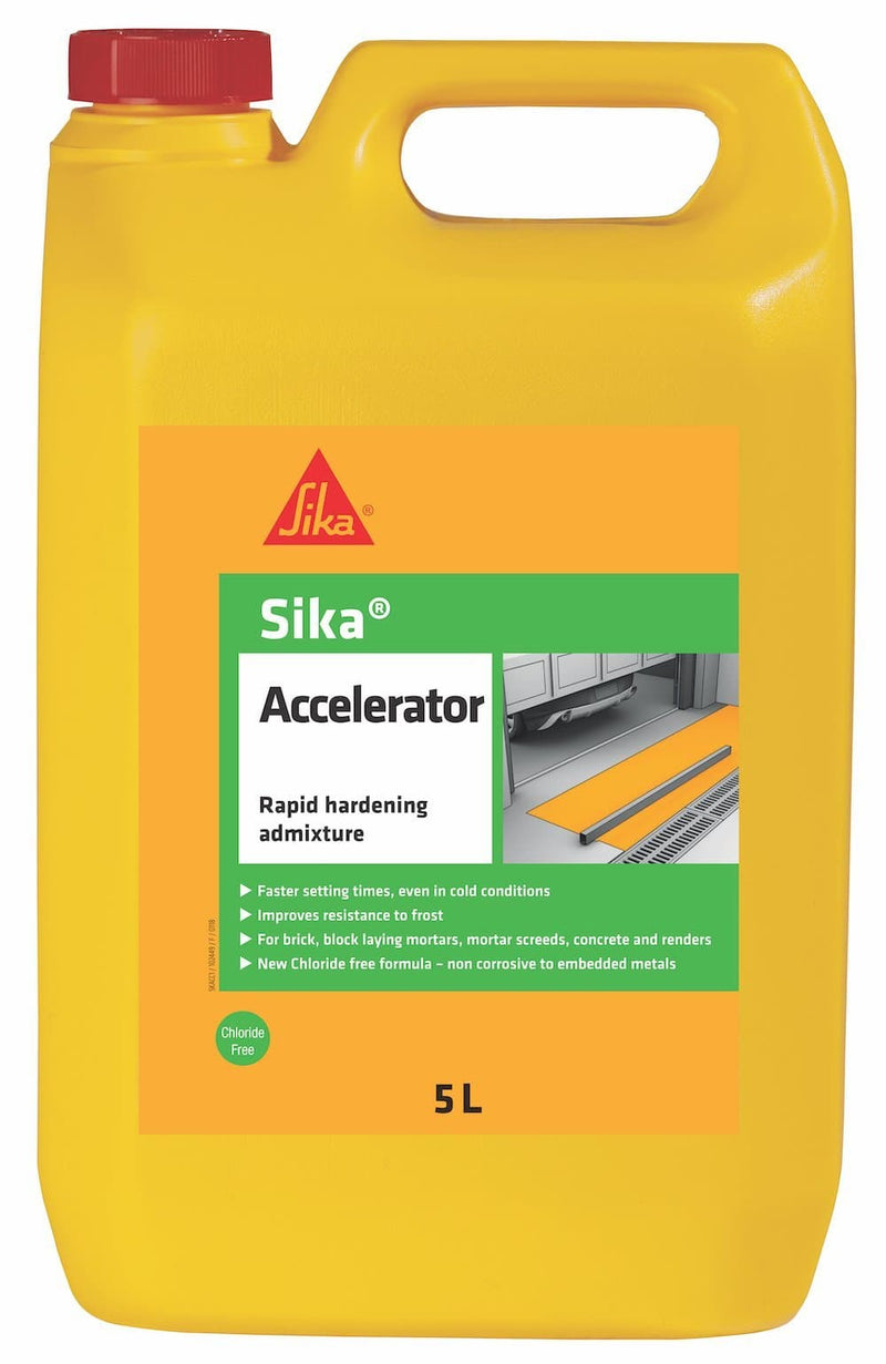Sika Accelerator - Admixture - Trade Building Products