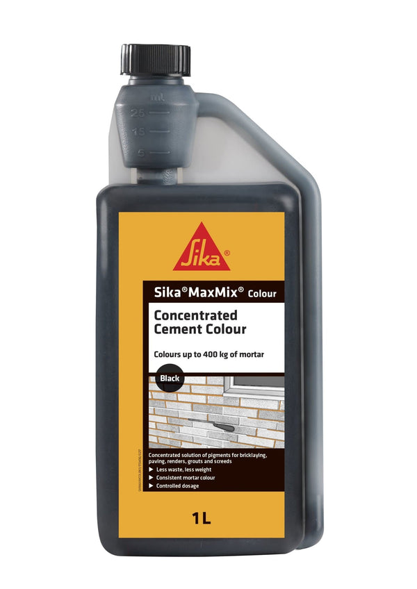 Sika MaxMix Cement Colour - Mortar Admixture - Trade Building Products