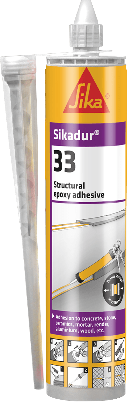 Sikadur 33 - 2 Part Structural Epoxy Adhesive - Adhesive - Trade Building Products