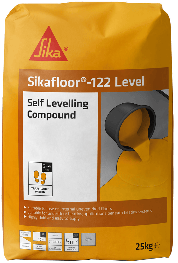 Sikafloor 122 Level - Self Levelling Floor Compound - Flooring Compound - Trade Building Products