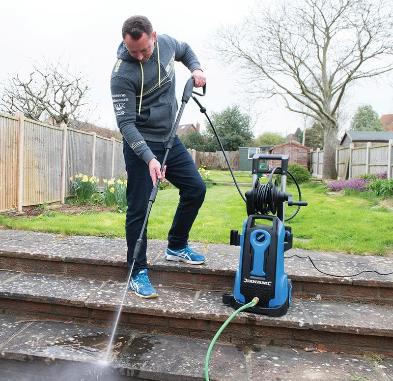 Silverline 2100W Pressure Washer - 165 Bar - Pressure Washer - Trade Building Products