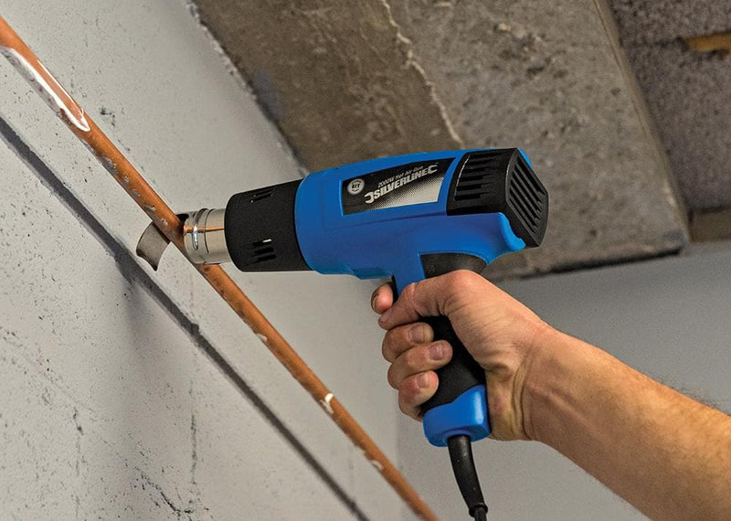 Silverline DIY 2000W Heat Gun - Heat Gun - Trade Building Products